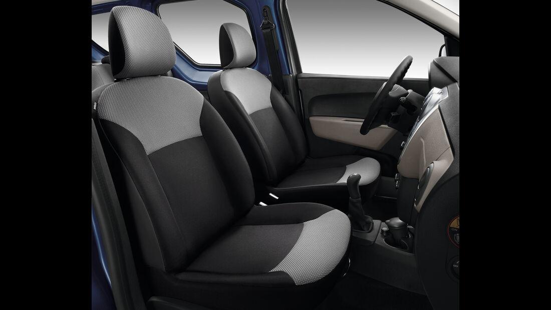 Dacia Dokker, Sitze, Innenraum