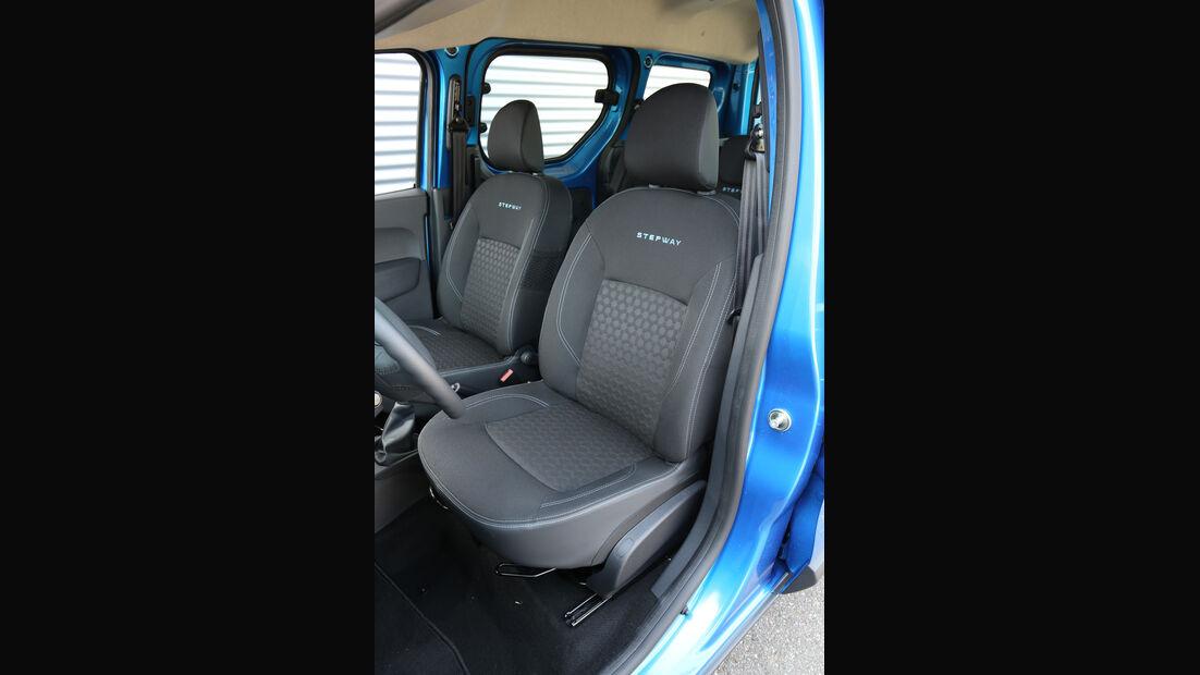 Dacia Dokker Stepway dCi 90, ams1815, Fahrersitz