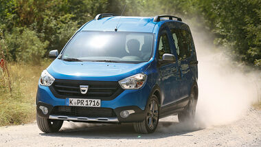 Dacia Dokker Stepway dCi 90, ams1815, Frontansicht