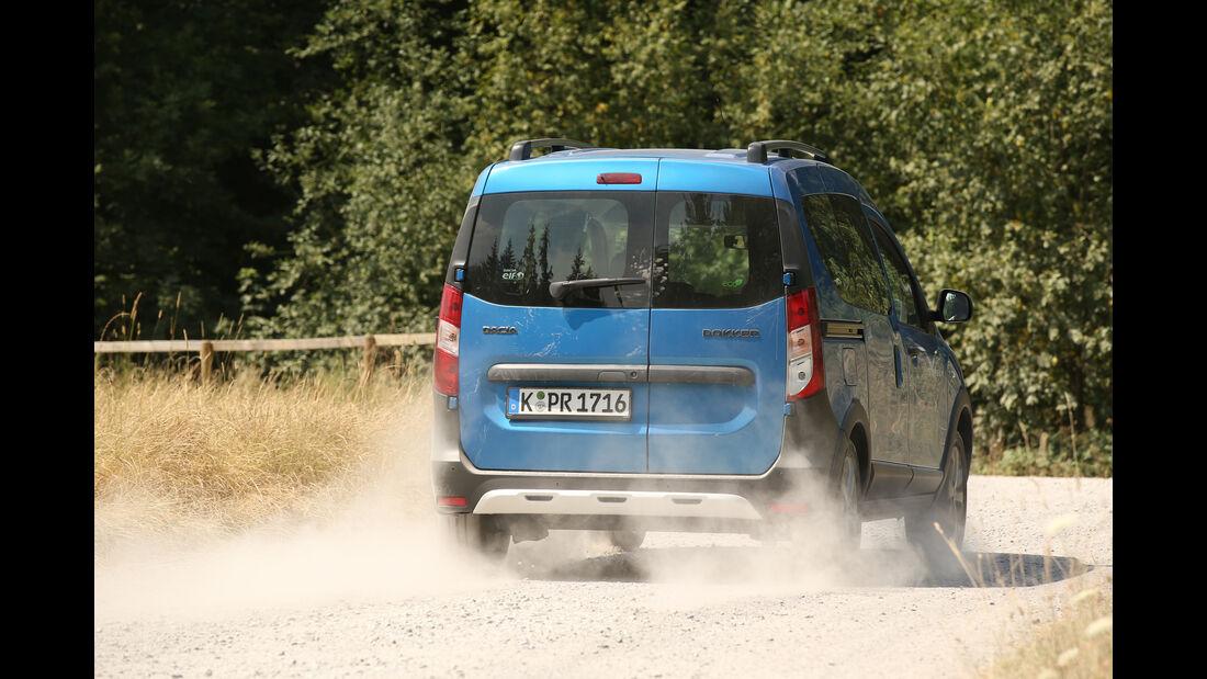 Dacia Dokker Stepway dCi 90, ams1815, Heckansicht