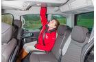 Dacia Dokker dCi 90 Eco2, Rücksitz, Kopffreiheit