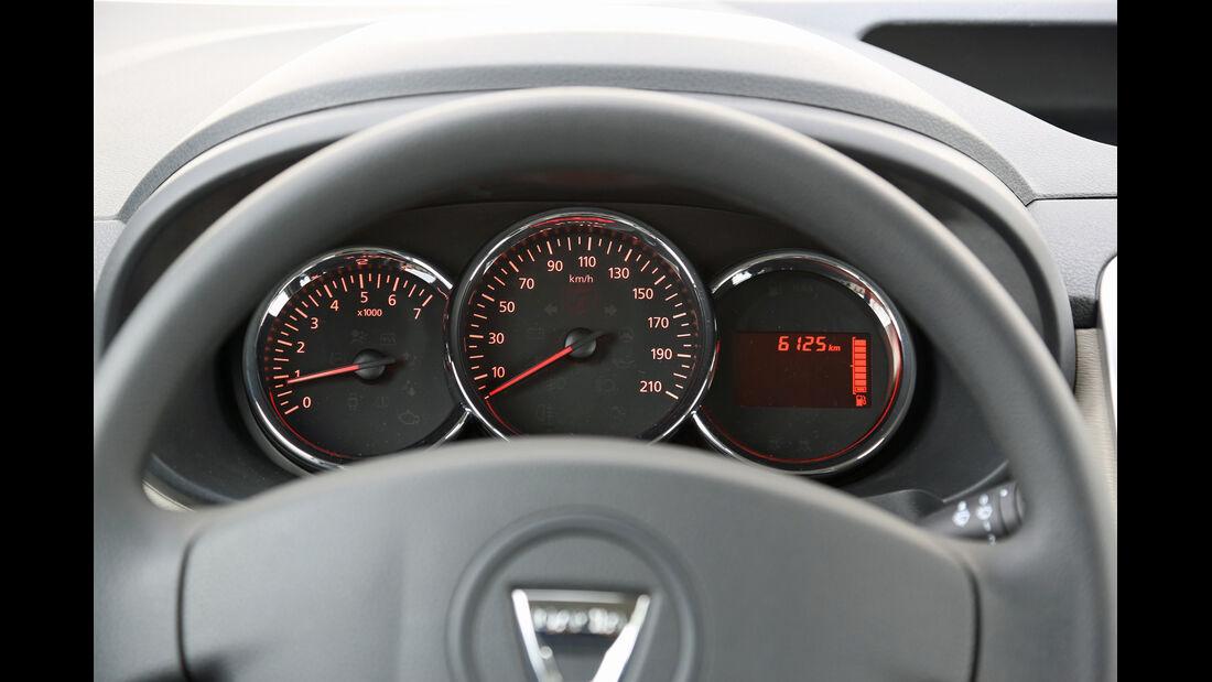Dacia Dokker dCi 90, Rundinstrumente