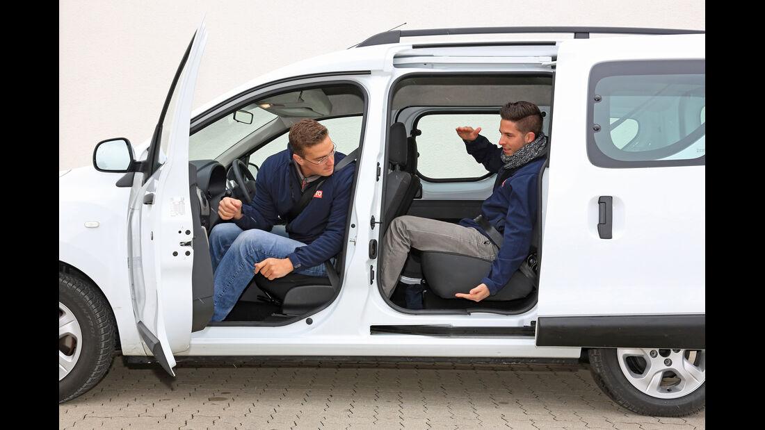 Dacia Dokker dCi 90, Seitentür, Seitenansicht