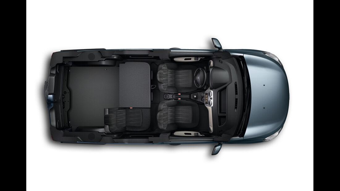 Dacia Dokker, von oben