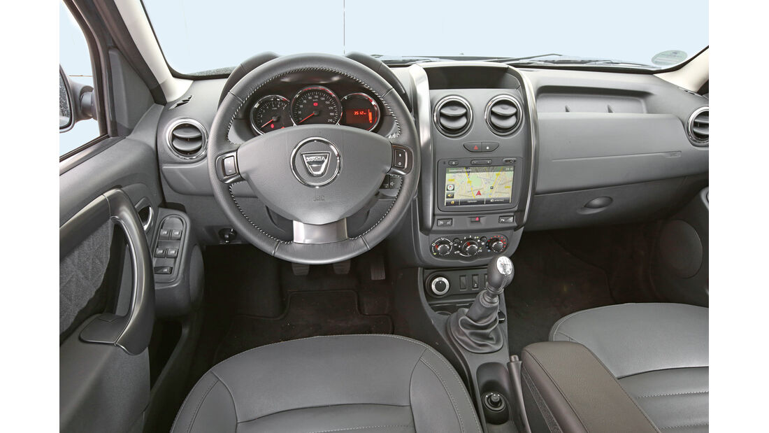 Dacia Duster 1.5 dCi 4x4 Prestige, Cockpit