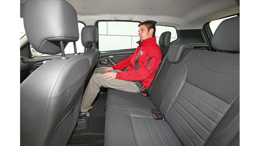 Dacia Duster 1.5 dCi 4x4 Prestige, Fondsitz