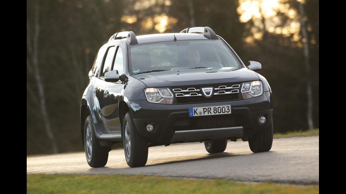 Dacia Duster 1.5 dCi 4x4 Prestige, Frontansicht