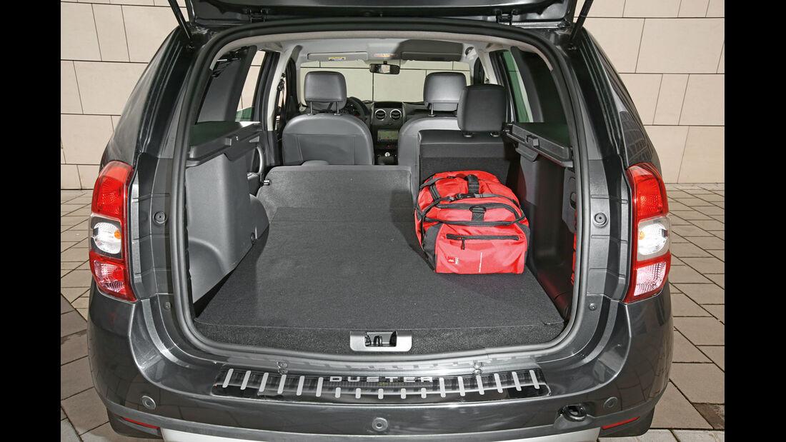 Dacia Duster 1.5 dCi 4x4 Prestige, Kofferraum