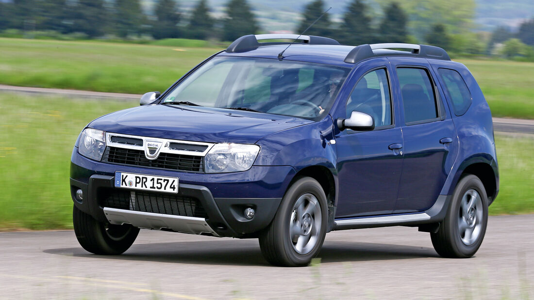 Dacia Duster 1.6 16V LPG 105 4x2 Prestige, Frontansicht