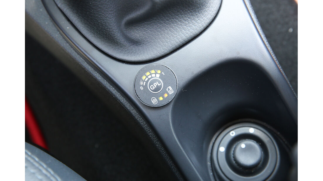 Dacia Duster 1.6 16V LPG 105 4x2 Prestige, GPL, Anzeige