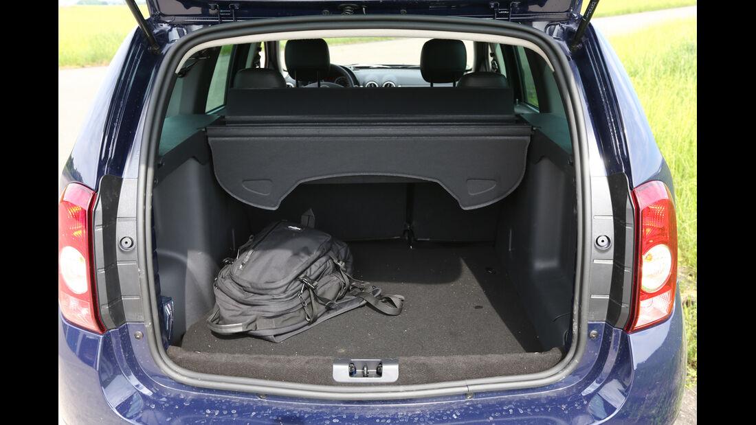 Dacia Duster 1.6 16V LPG 105 4x2 Prestige, Kofferraum