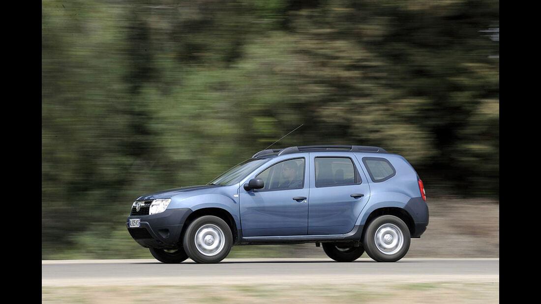 Dacia Duster 1.6 16V Test
