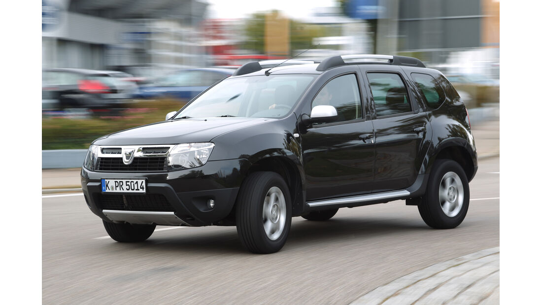 Dacia Duster 1.6 LPG, Frontansicht