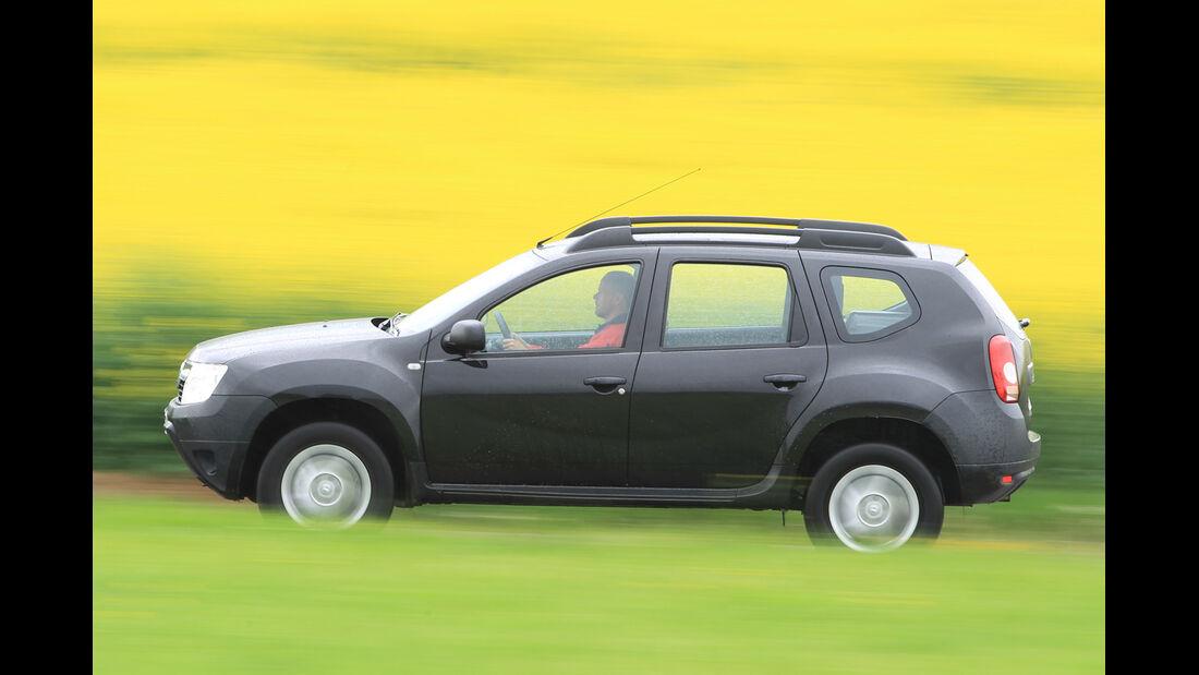 Dacia Duster 1.6 LPG, Seitenansicht