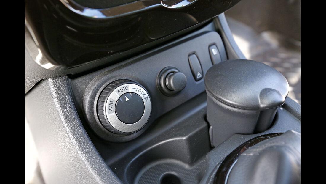 Dacia Duster, Bedienelement