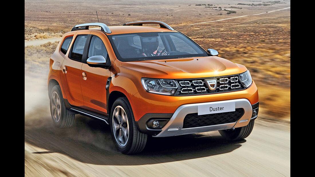 Dacia Duster, Best Cars 2020, Kategorie I Kompakte SUV/Geländewagen