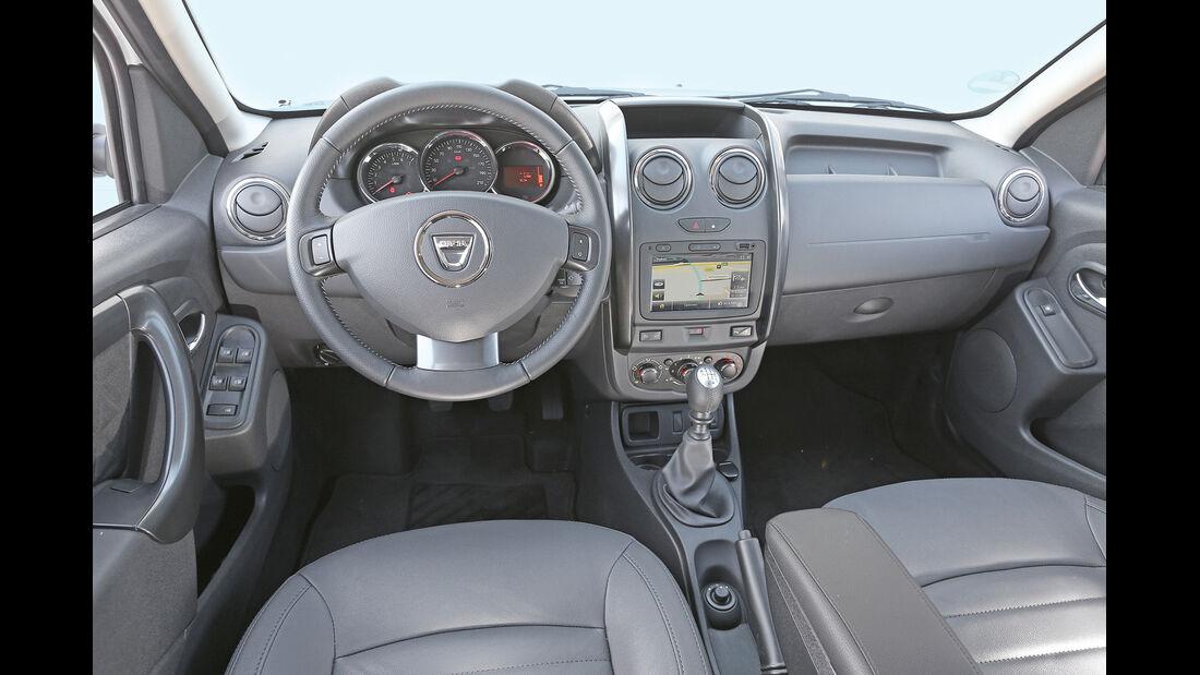 Dacia Duster, Cockpit