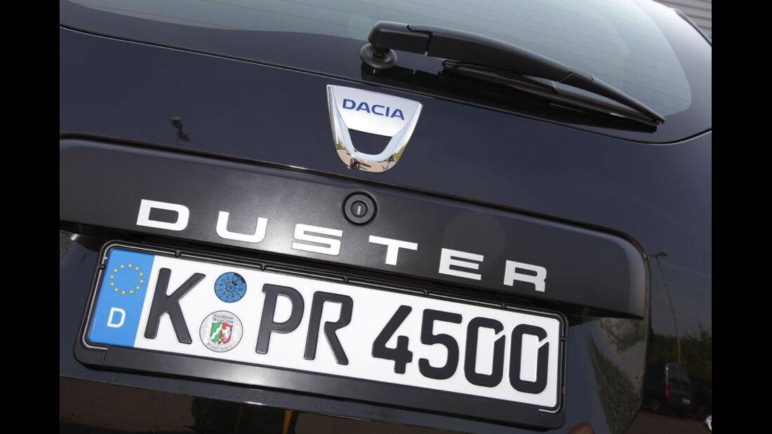 Dacia Duster DCi 90 4x2, Typenbezeichnung