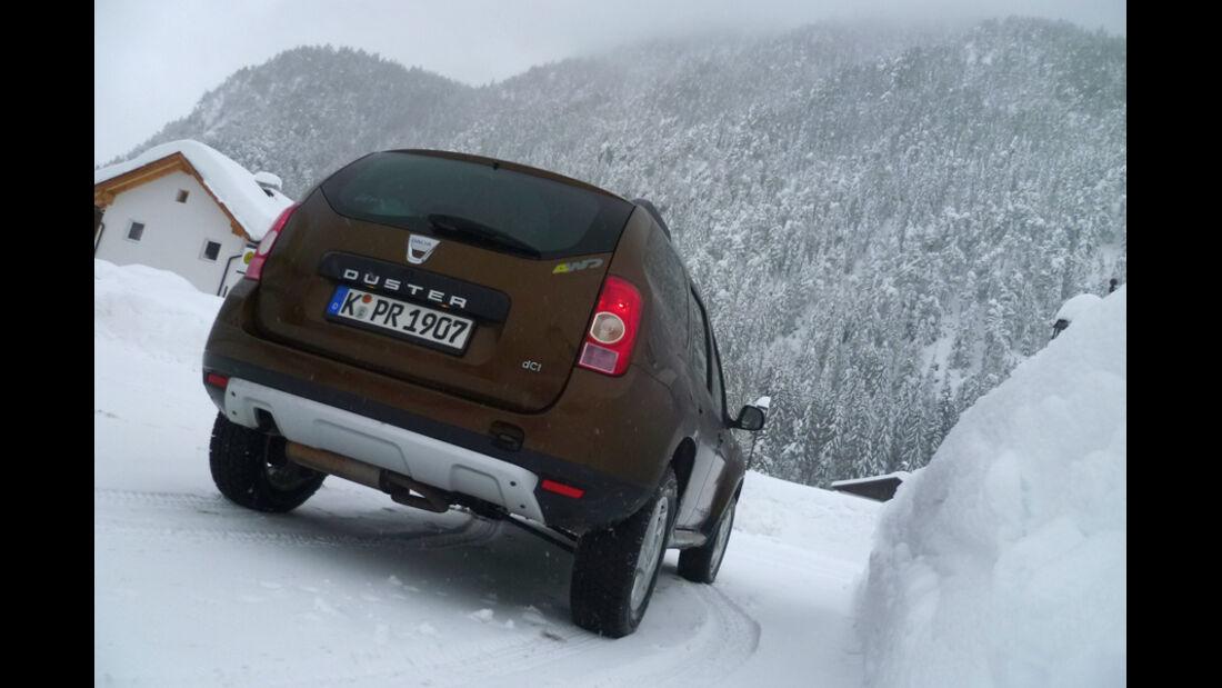 Dacia Duster Dauertest 2012