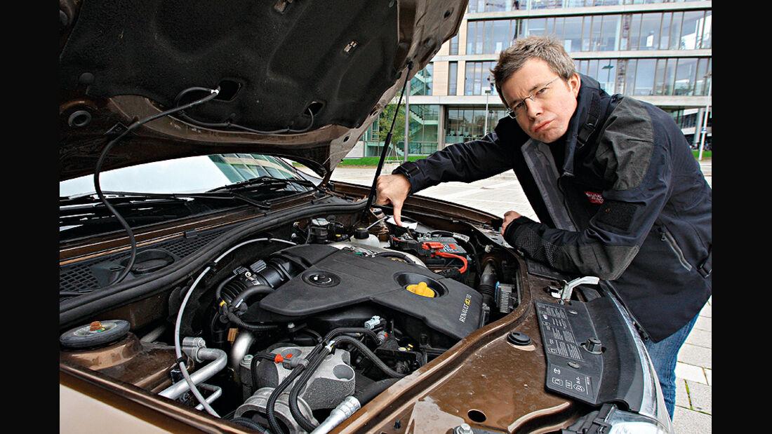 Dacia Duster Dauertest, Motor