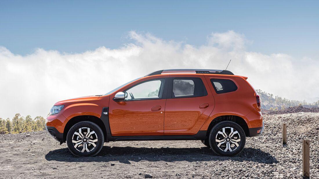 Dacia Duster Facelift 2021 (Modelljahr 2022)