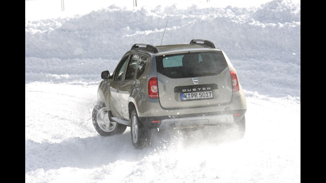 Dacia Duster, Heck