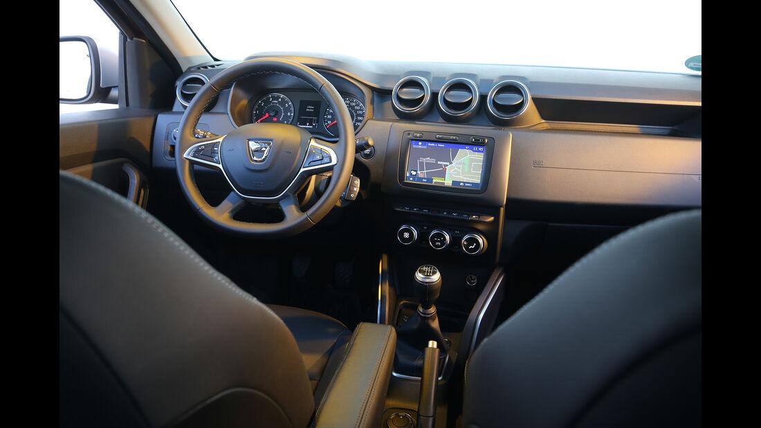 Dacia Duster, Interieur