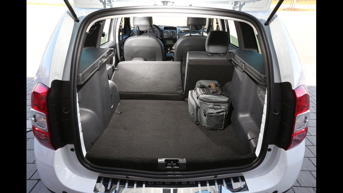Dacia Duster, Kofferraum, Ladefläche