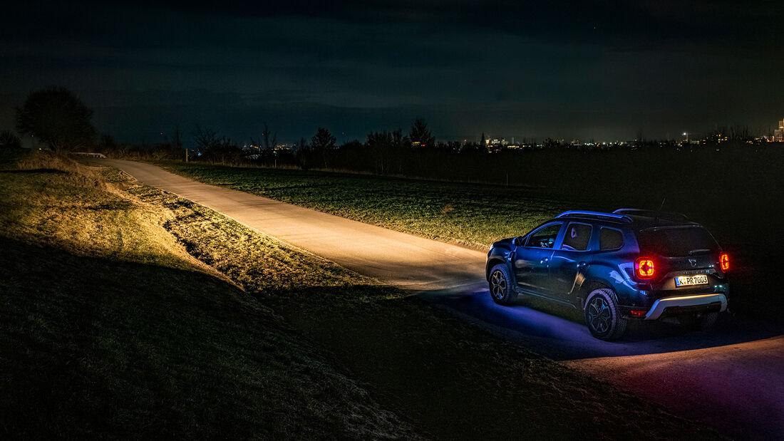 Dacia Duster, Lichttest