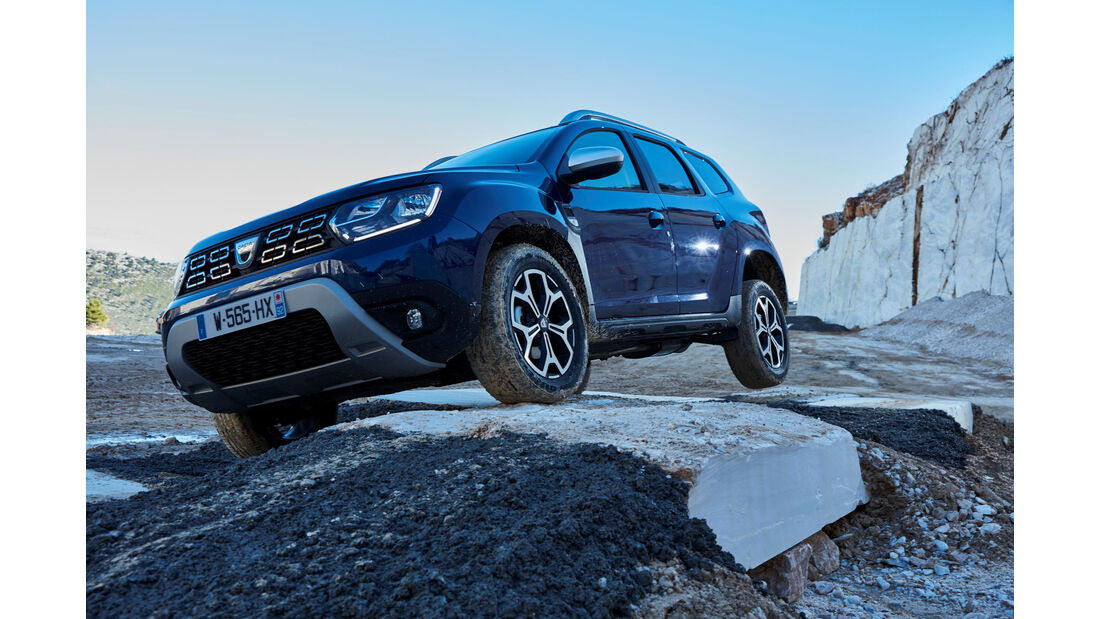 Dacia Duster Modelljahr 2018 Fahrbericht