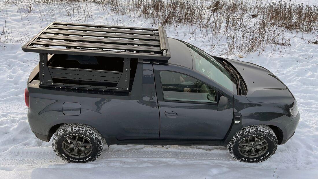 Dacia Duster Pickup Taubenreuther