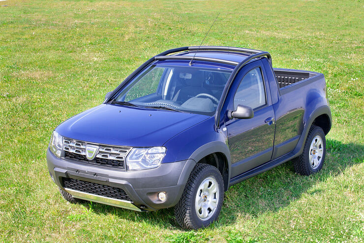 dacia duster pickup rum ne mit pritsche auto motor und sport. Black Bedroom Furniture Sets. Home Design Ideas