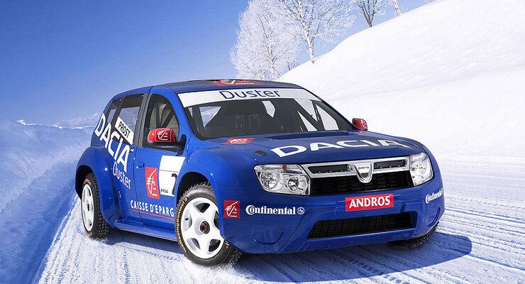 Dacia Duster Rallyeauto