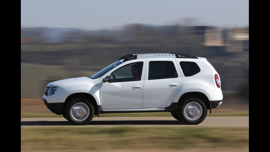 Dacia Duster, Seitenansicht