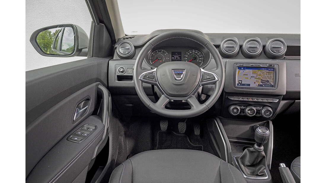 Dacia Duster TCE 130 Prestige, Motorraum