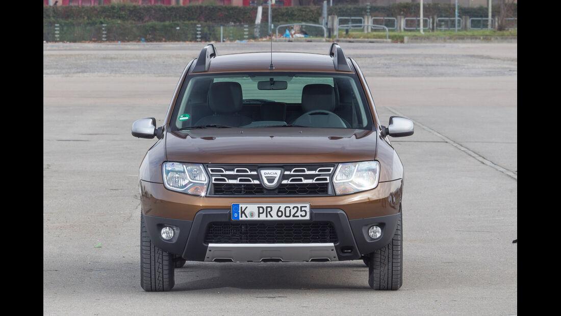 Dacia Duster TCe 125 4 x 2 Prestige, Frontansicht