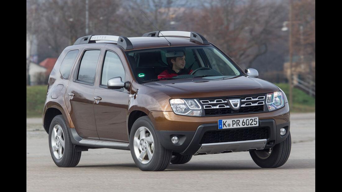 Dacia Duster TCe 125 4 x 2 Prestige, Seitenansicht