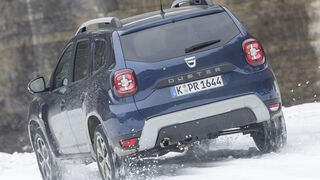 Dacia Duster TCe 125 4x4, Exterieur
