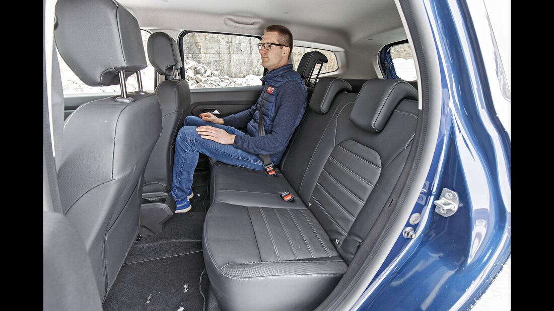 Dacia Duster TCe 125 4x4, Interieur