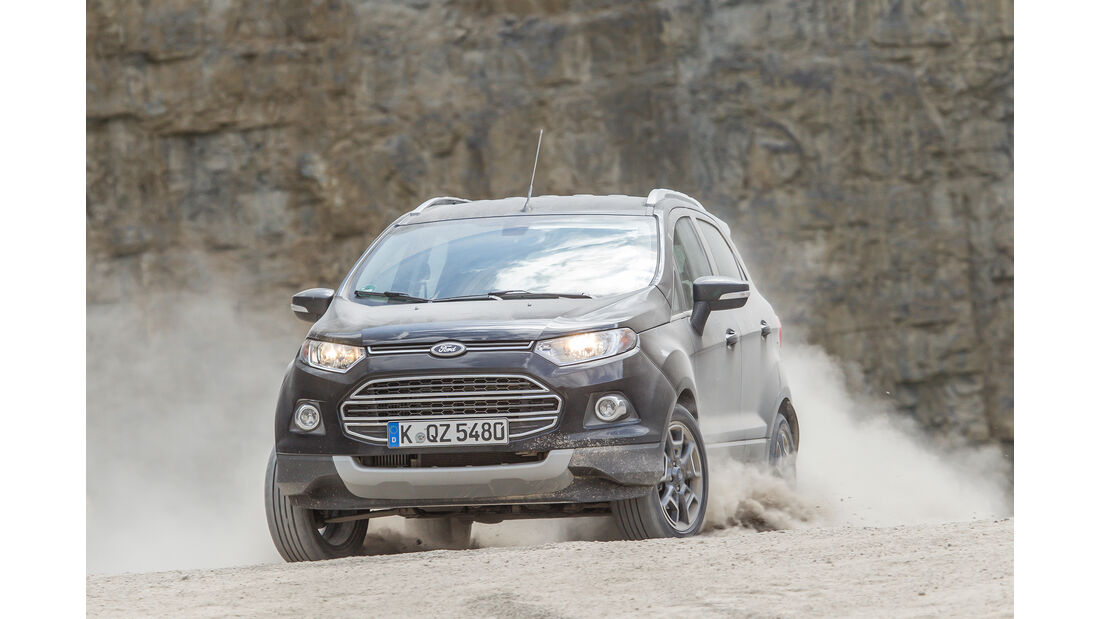 Dacia Duster TCe 125, Ford Ecosport 1.0 Ecoboost, VT, AS1816