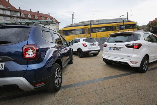 Dacia Duster Tce 125 4x4, Ford Ecosport 1.0 Ecoboost, Opel Mokka X 1.4 Turbo, Exterieur