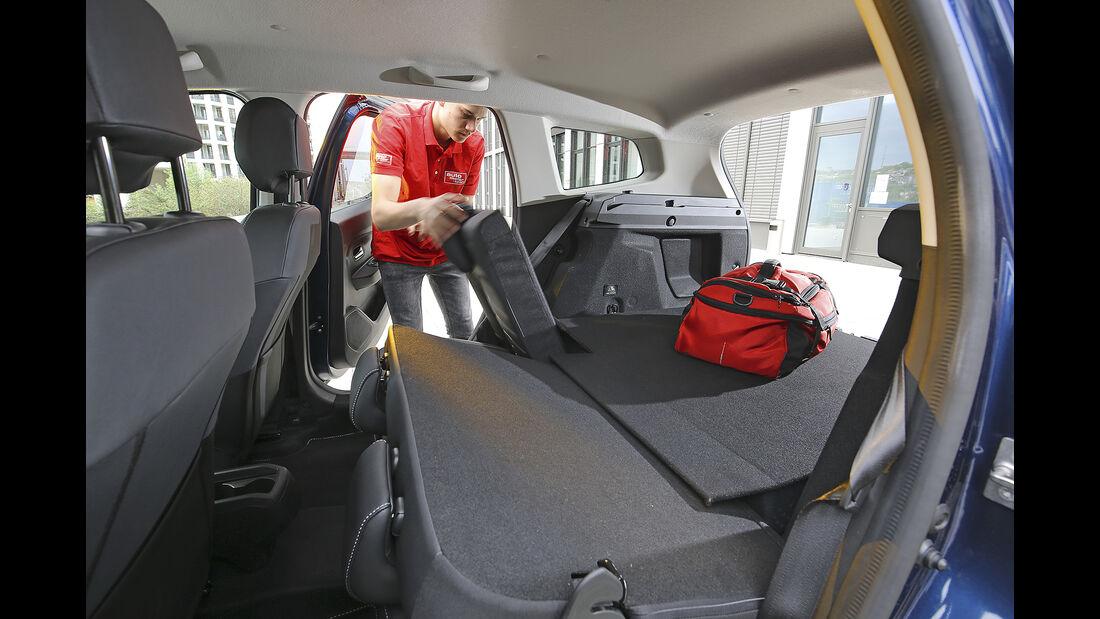 Dacia Duster Tce 125 4x4, Kofferraum