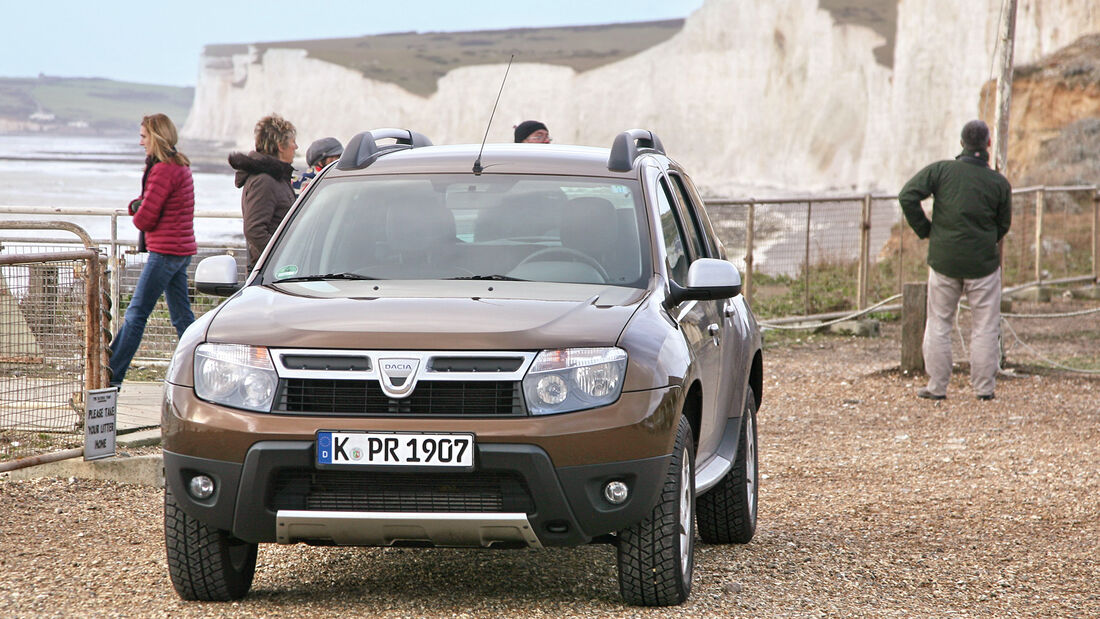 Dacia Duster dCi 110 4WD, Frontansicht
