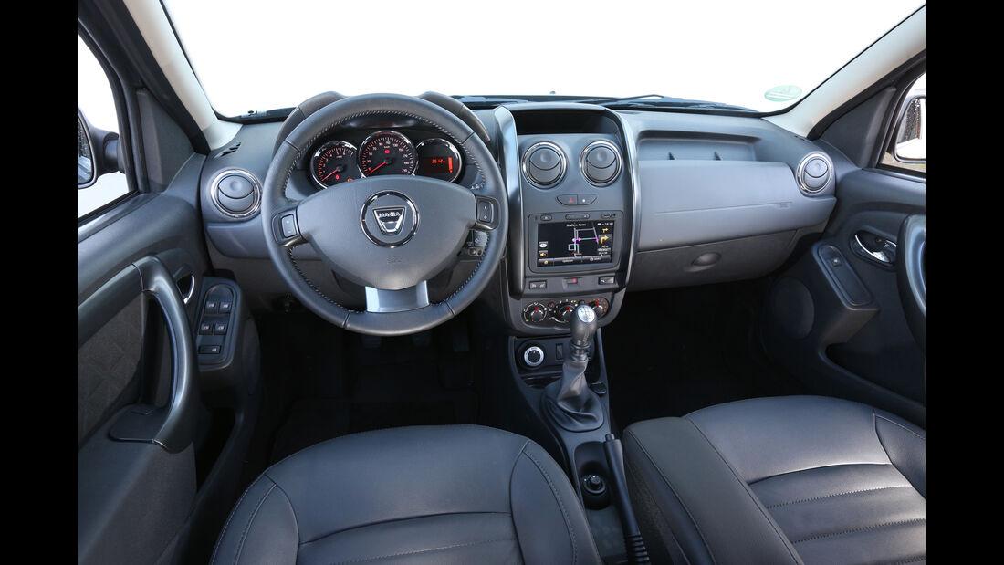 Dacia Duster dCi 110 4x 4, Cockpit