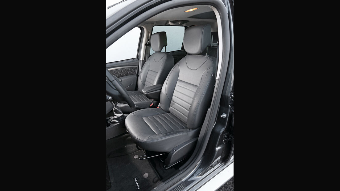Dacia Duster dCi 110 4x 4, Fahrersitz
