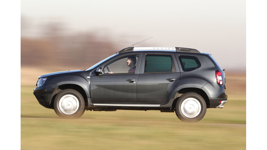 Dacia Duster dCi 110 4x 4, Seitenansicht