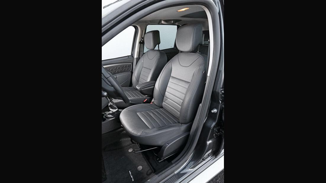 Dacia Duster dCi 110 4x4, Fahrersitz
