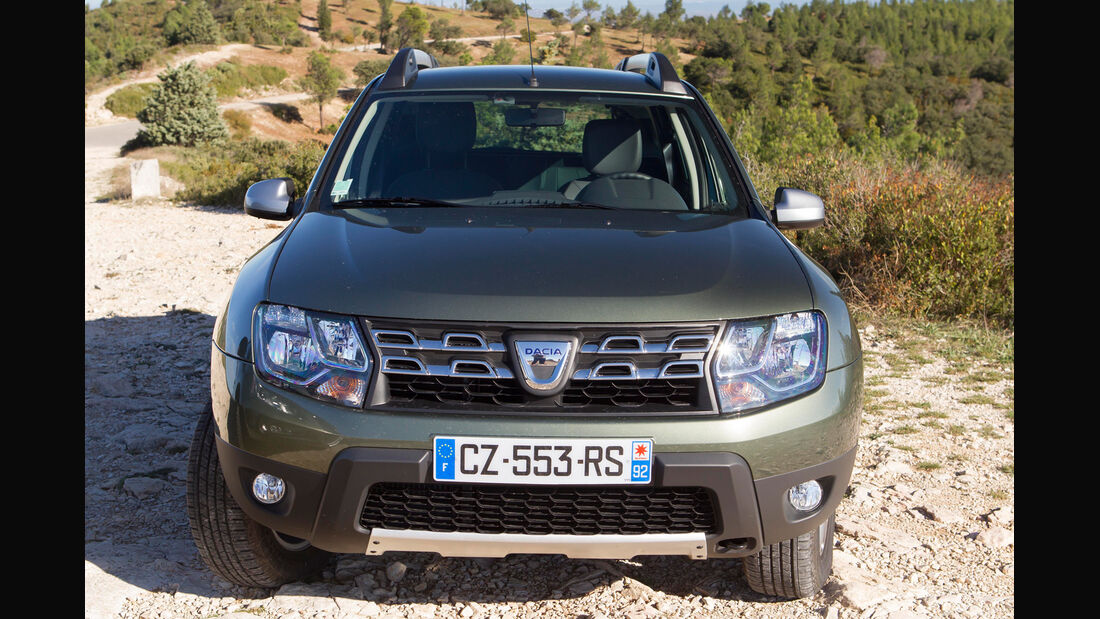 Dacia Duster dCi 110 4x4, Frontansicht