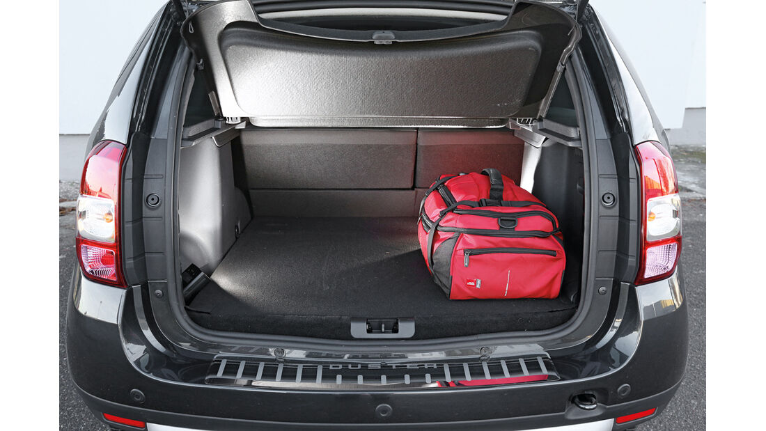 Dacia Duster dCi 110 4x4, Kofferraum