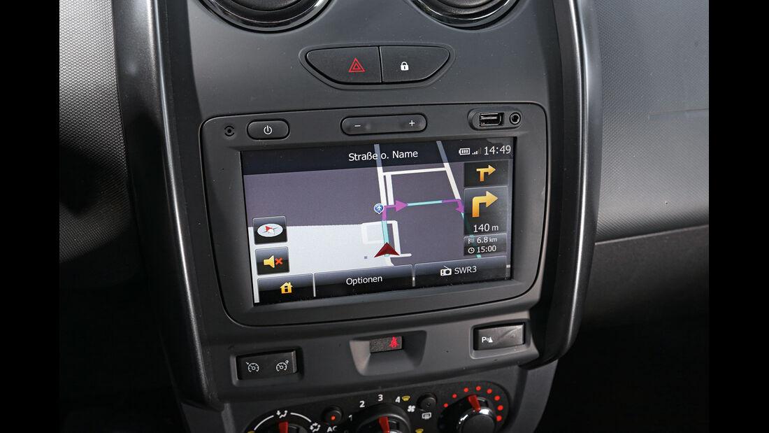 Dacia Duster dCi 110 4x4, Navi, Bildschirm